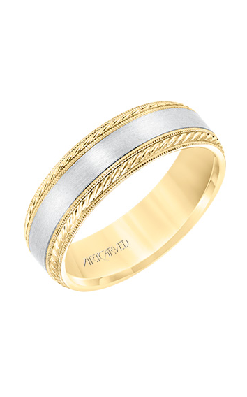 Artcarved Men's Engraved Wedding Band 11-WV8672YW65-G product image