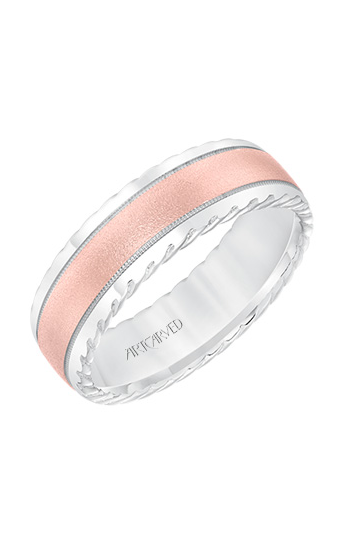 Artcarved Men's Engraved Wedding Band 11-WV8642WR7-G product image
