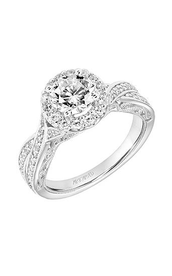 Artcarved Vintage Engagement Ring 31-V765ERW-E product image