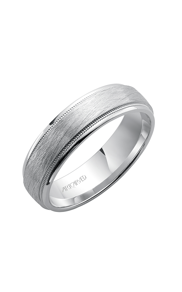 Artcarved COURTLAND 6.MM CF Engraved Band 11-WV7382W6-G product image