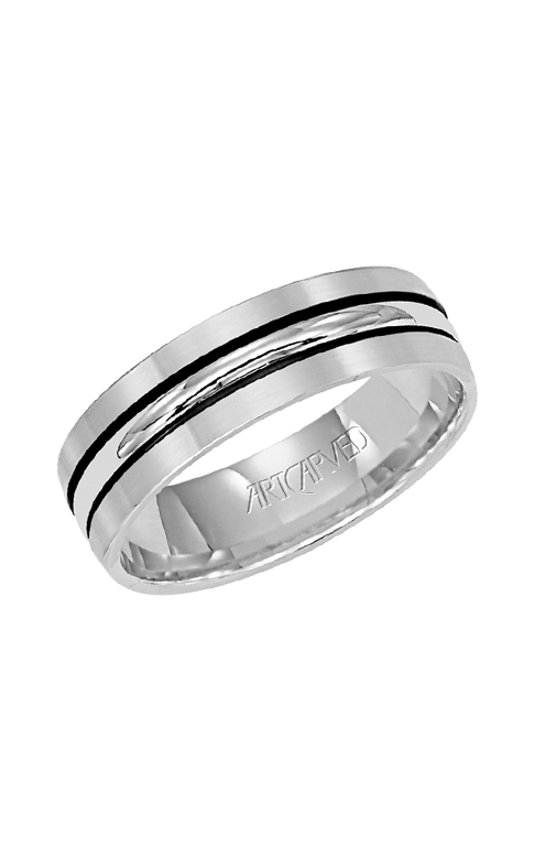 Artcarved CASTLE 6.0MM ENGRAVE RING 11-WV4503W-G product image