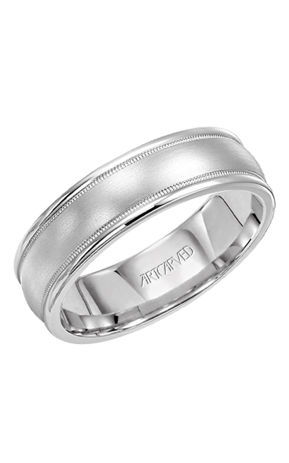 Artcarved PENDLETON 6.5MM ENGRAVED WED RING 11-WV5010W-G product image