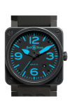 Bell and Ross BR 03-92 BR03-92 Carbon Blue