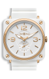 Bell and Ross BR S QUARTZ BR S White and Gold