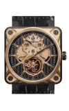Bell and Ross BR 01 Tourbillon BR01 Gold and Titanium