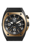 Bell and Ross Automatic BR02-92 Pink Gold and Carbon
