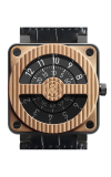 Bell and Ross BR 01 Flight Instruments BR01 92 Compass Gold Carbon