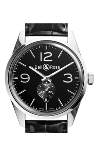 Bell and Ross Automatic BR123 Officer Black