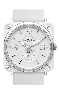 Bell and Ross BR S QUARTZ BR S White Ceramic