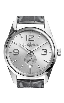 Bell and Ross Automatic Watch BR123 Officer Silver product image