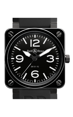 Bell and Ross Aviation BR 01 46 MM Watch BR01-92 Ceramic