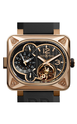 Bell and Ross Aviation BR 01 46 MM Watch BR MT Gold