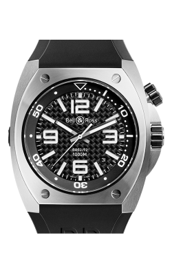 Bell and Ross Automatic BR02-92 Steel Fiber