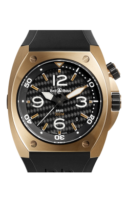 Bell and Ross Automatic BR02-92 Pink Gold