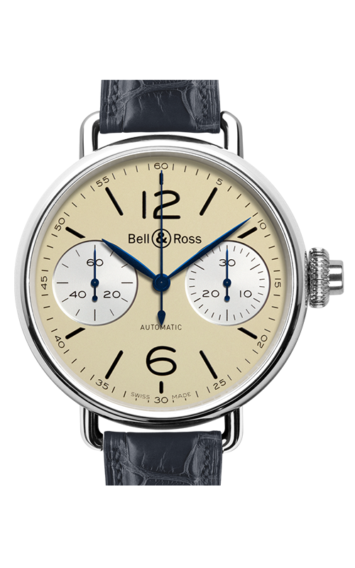 Bell and Ross WW1 Chronograph Monopoussoir Watch WW1 Ivory product image