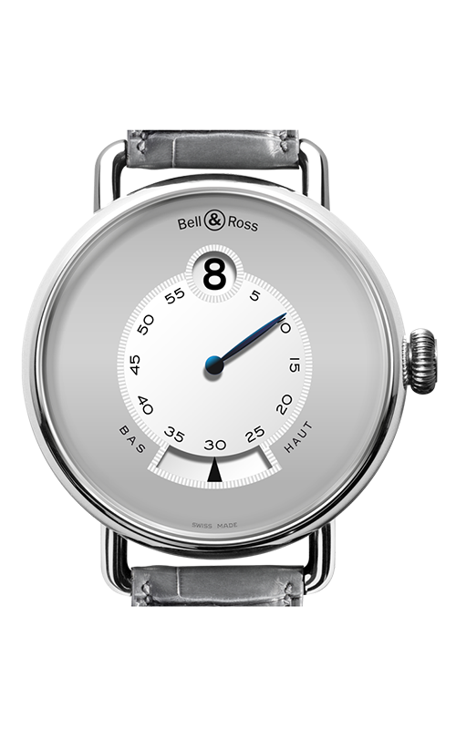 Bell and Ross WW1 Heure Sautante Watch WW1 Platinum product image