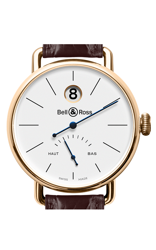 Bell and Ross WW1 Heure Sautante Watch WW1 Pink Gold product image