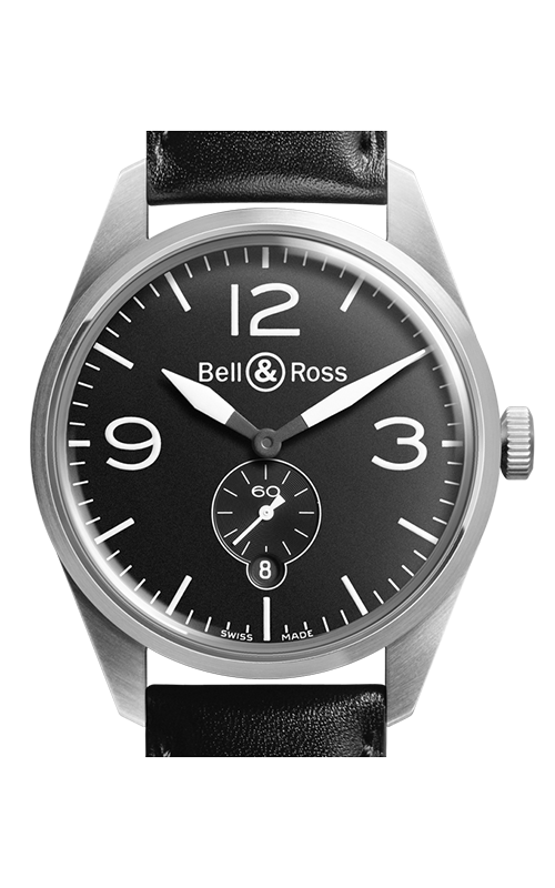 Bell and Ross Automatic Watch BR123 Original Black product image