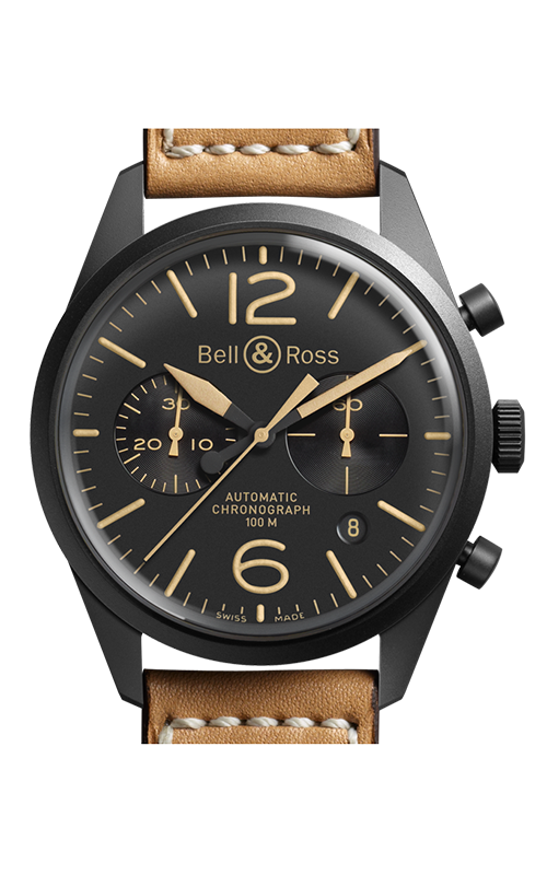 Bell and Ross Chronograph Watch BR126 Heritage product image