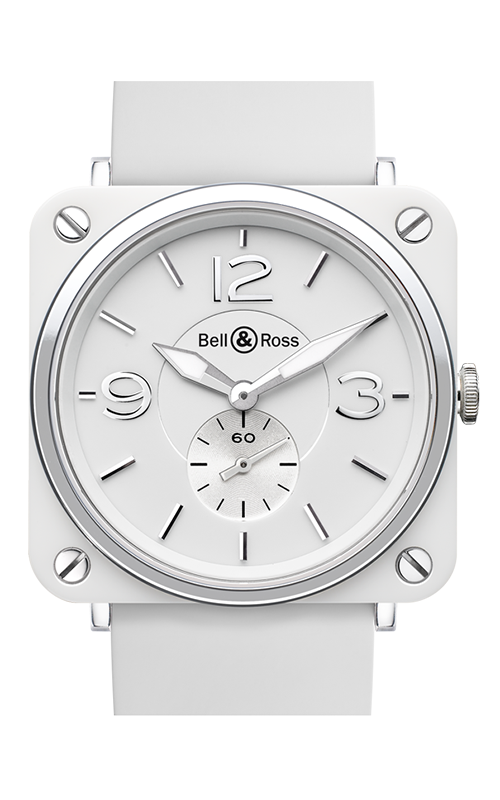 Bell and Ross BR S QUARTZ Watch BR S White Ceramic product image