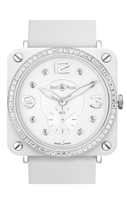 Bell and Ross BR S QUARTZ Watch BR S White Phantom Diamonds product image