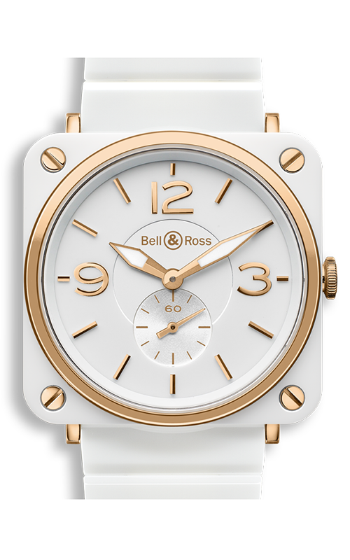 Bell and Ross BR S QUARTZ Watch BR S White and Gold product image