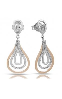 Belle Etoile Onda Silver & Rose Gold Earrings product image