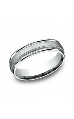 Benchmark Designs Comfort-Fit Design Wedding Band RECF7601S18KW09.5 product image
