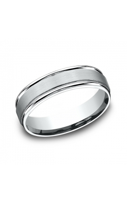 Benchmark Comfort-Fit Design Wedding Band RECF7602S14KW10.5 product image