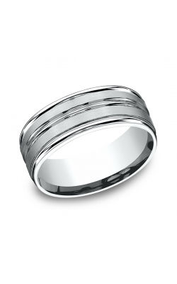 Benchmark Designs wedding band RECF58180PT10.5 product image