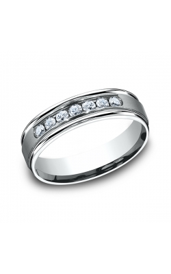 Benchmark Diamonds Comfort-Fit Diamond Wedding Ring RECF516516PT07.5 product image