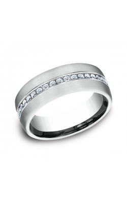 Benchmark Comfort-Fit Diamond Wedding Ring CF71757314KW08 product image