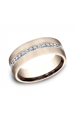 Benchmark Comfort-Fit Diamond Wedding Ring CF71757314KR08 product image