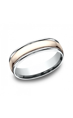 Benchmark Designs Two Tone Comfort-Fit Design Wedding Band CF2160814KRW11 product image