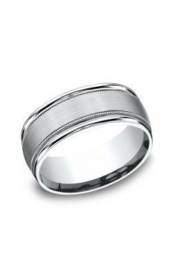 Benchmark Comfort-Fit Design Wedding Ring RECF7801S14KW09.5 product image