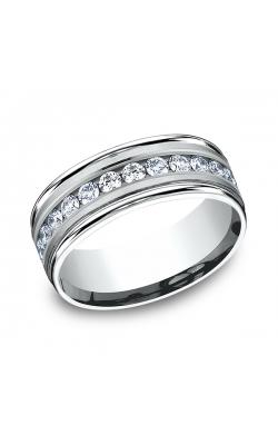 Benchmark Diamonds Comfort-Fit Diamond Wedding Band RECF518516PD07.5 product image
