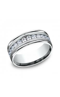Benchmark Diamonds Comfort-Fit Diamond Wedding Band RECF518516PT04 product image