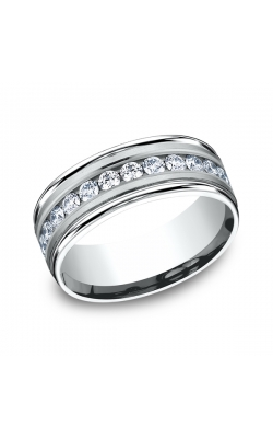Benchmark Diamonds Comfort-Fit Diamond Wedding Band RECF518516PT06.5 product image