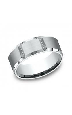 Benchmark Comfort-Fit Design Wedding Ring CF6844914KW04.5 product image
