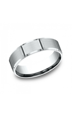 Benchmark Comfort-Fit Design Wedding Ring CF6644914KW07.5 product image