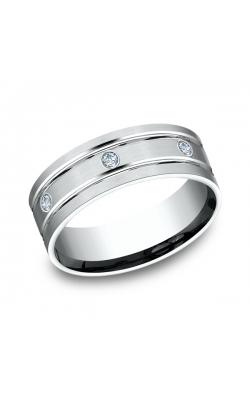 Benchmark Comfort-Fit Diamond Wedding Band CF52813814KW08 product image