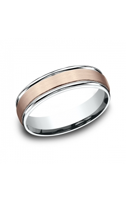 Benchmark Two Tone Comfort-Fit Design Wedding Ring CF21603114KRW07.5 product image
