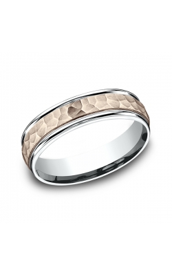Benchmark Two Tone Comfort-Fit Design Wedding Band CF21630314KRW12 product image