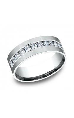 Benchmark Comfort-Fit Diamond Wedding Band CF52853114KW08.5 product image