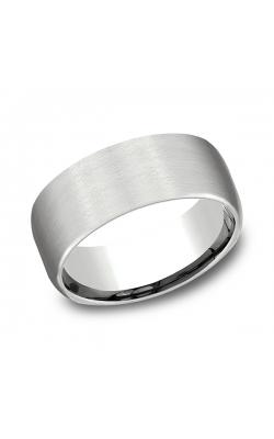 Benchmark Comfort-Fit Design Wedding Band CF7196114KW09.5 product image
