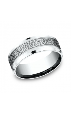 Benchmark Comfort-Fit Design Wedding Band CF80835714KW08.5 product image