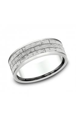 Benchmark Comfort-Fit Design Wedding Band CF84763614KW07.5 product image