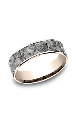 Benchmark Two Tone Comfort-Fit Design Wedding Ring CFT826563314KRW11.5 product image