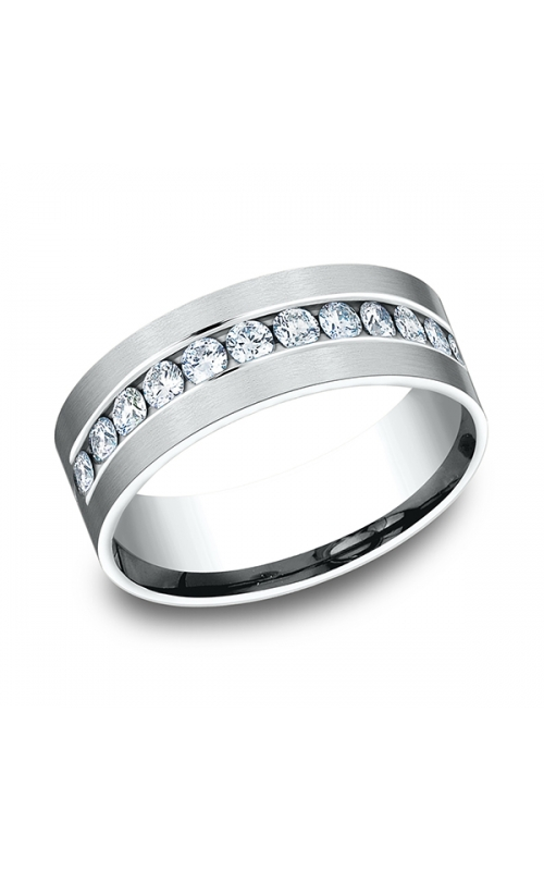 Benchmark Comfort-Fit Diamond Wedding Band CF52853114KW04 product image