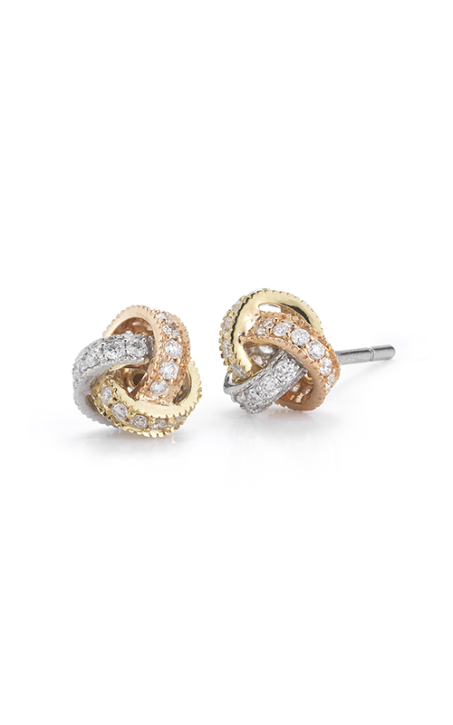 Beny Sofer Earrings Earring ET16-80TRI-B product image